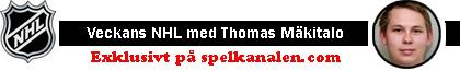 Veckans NHL med Thomas Mäkitalo