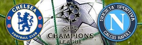 Chelsea-Napoli, Champions League 2012