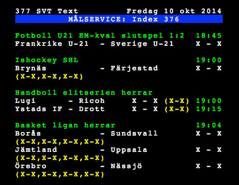 Post image for En hyllning till text-tv